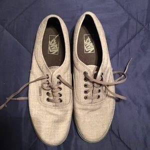 EUC Vans canvas shoe, Men's 11
